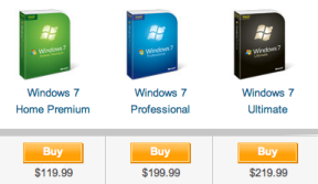 windows 7 prices