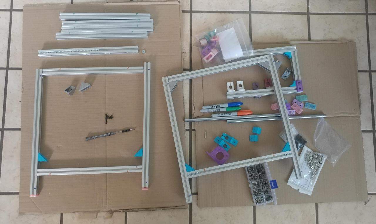 בניית המסגרת